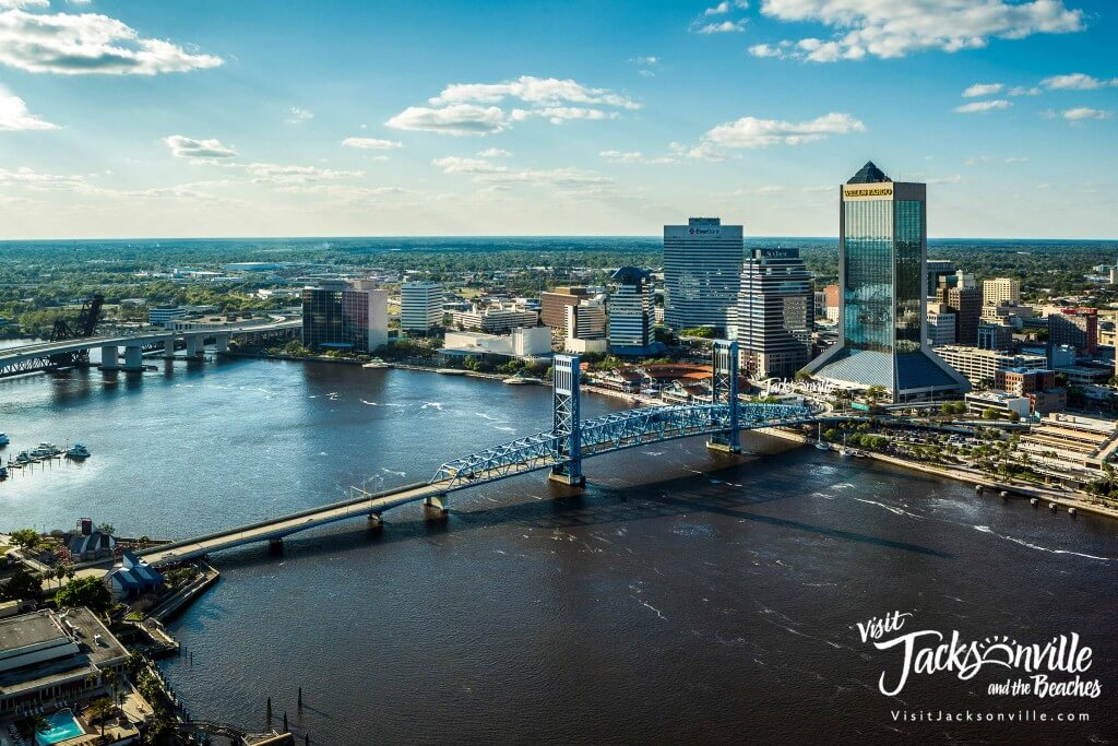 Downtown Jacksonville Skyline