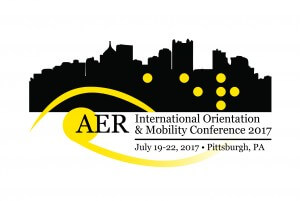 Logo for AER International Orientation & Mobility Conference & Meeting 2017